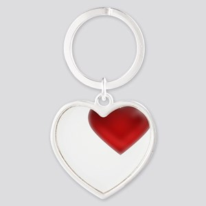 I Heart Cayman Islands Heart Keychain