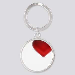 I Heart Cayman Islands Round Keychain