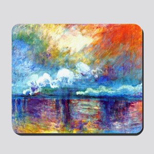 Monet Charing Cross Bridge Mousepad