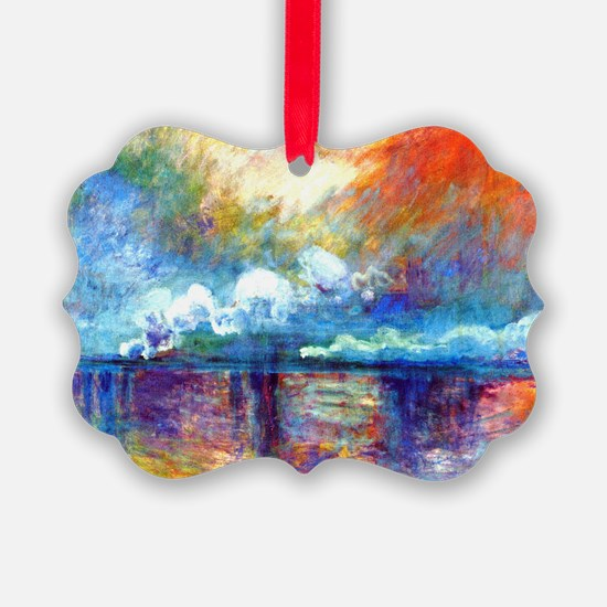 Monet Charing Cross Bridge Ornament