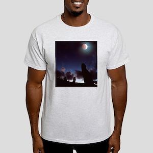 Lunar eclipse Light T-Shirt