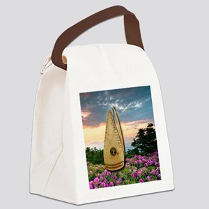 Spring Psaltery Canvas Lunch Bag