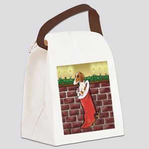 doxstockingpiesq Canvas Lunch Bag