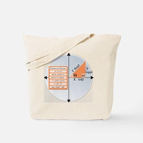 Pythagorean Theorem Tote Bag