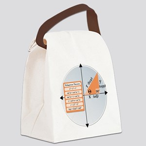 Pythagorean Theorem Canvas Lunch Bag
