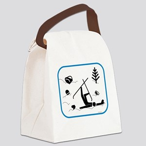 yardsaleCP Canvas Lunch Bag