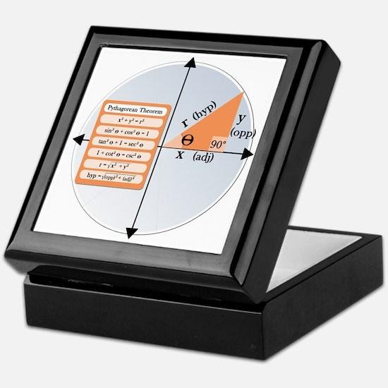 Pythagorean Theorem Keepsake Box