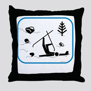 yardsaleCP Throw Pillow