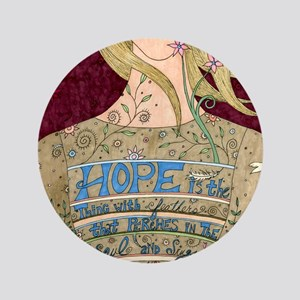 "Song of Hope 3.5"" Button"