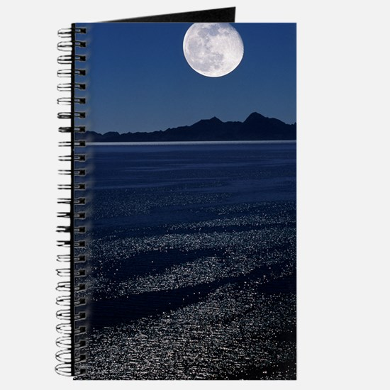 Moonrise over sea Journal
