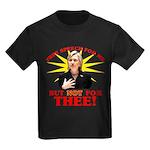 Anti-Hillary Free Speech? Kids Dark T-Shirt