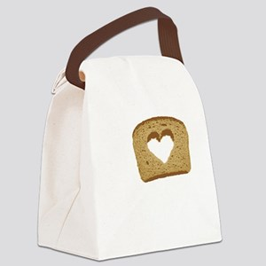 I Love Carbs! Canvas Lunch Bag