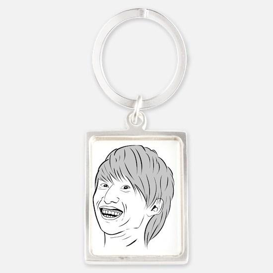 Creeper Portrait Keychain