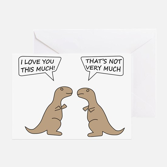 T-Rex Hilarious Greeting Card