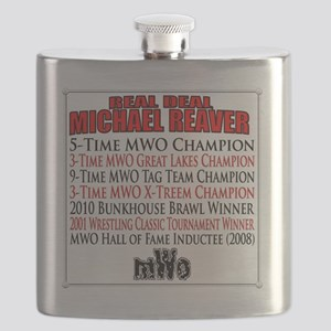 Michael Reaver Tribute Back Flask