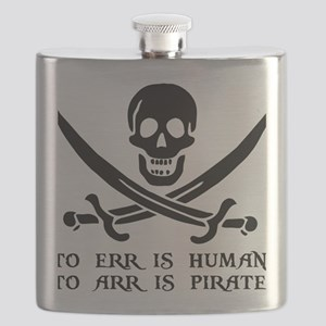 Witty Pirate Flask