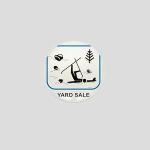yardsaleCPwht Mini Button