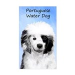 Portuguese Water Dog Sticker (Rectangle)