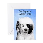 Portuguese Water Dog Greeting Cards (Pk of 20)