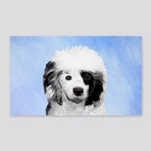 Portuguese Water Dog Area Rug