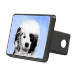 Portuguese Water Dog Rectangular Hitch Cover