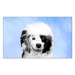 Portuguese Water Dog Sticker (Rectangle 10 pk)