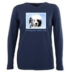 Portuguese Water Dog Plus Size Long Sleeve Tee