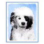 Portuguese Water Dog Small Poster