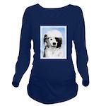 Portuguese Water Dog Long Sleeve Maternity T-Shirt