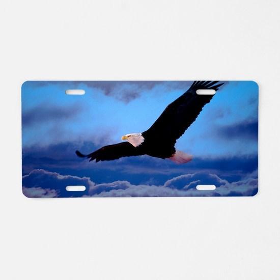 eagle  Aluminum License Plate