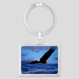 eagle  Landscape Keychain