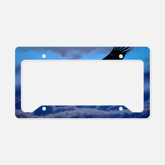 eagle  License Plate Holder
