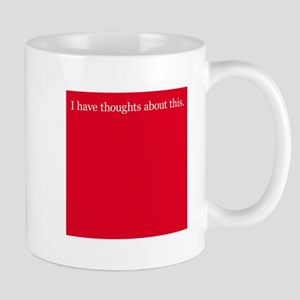 Thoughts about Red Mug