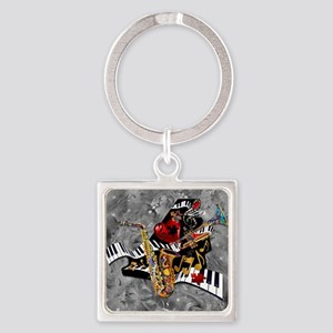 Piece of My Heart Square Keychain