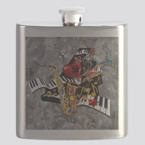 Piece of My Heart Flask