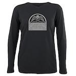 Spow Logo Plus Size Long Sleeve T-Shirt