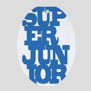 Super Junior Oval Ornament