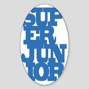 Super Junior Sticker (Oval)