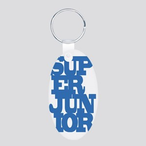 Super Junior Aluminum Oval Keychain