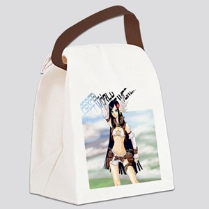 Elf Priest Travelling Canvas Lunch Bag