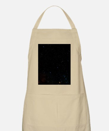 Optical image of the constellation Ophiuchus Apron