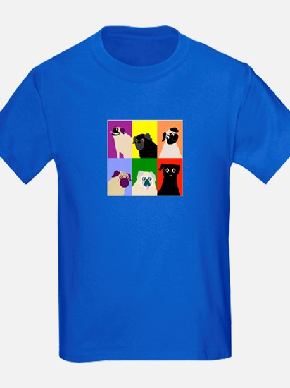 Rainbow Pugs Logo T
