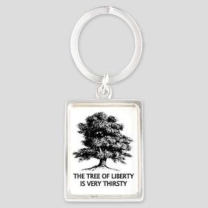 Tree of Liberty Portrait Keychain
