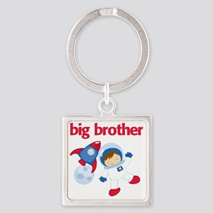 Astronaut Big Brother Square Keychain
