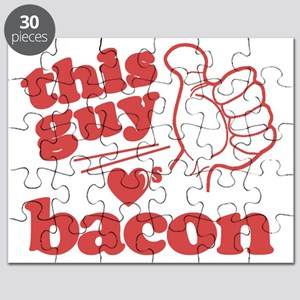 Guy Loves Bacon Puzzle