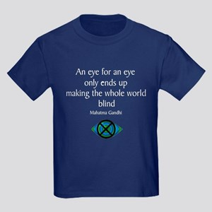 An Eye for an Eye Kids Dark T-Shirt