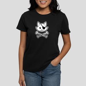 CatPirate-1 Women's Dark T-Shirt