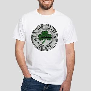 uss the sullivans patch T-Shirt