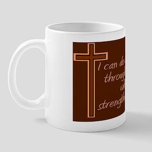 Philippians 4 13 Mug