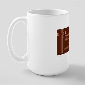 Philippians 4 13 Large Mug